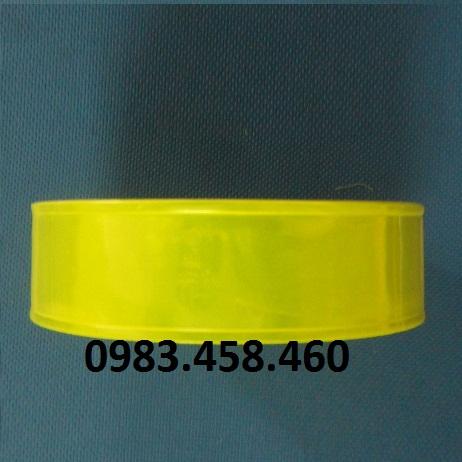 Vải phản quang vàng chanh W5.0