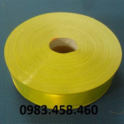 Vải phản quang vàng chanh W2.5