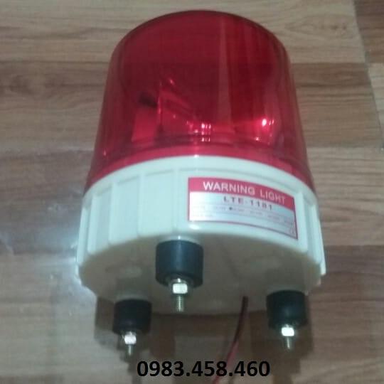 Đèn xoay cảnh báo LTE 1181 24V màu đỏ