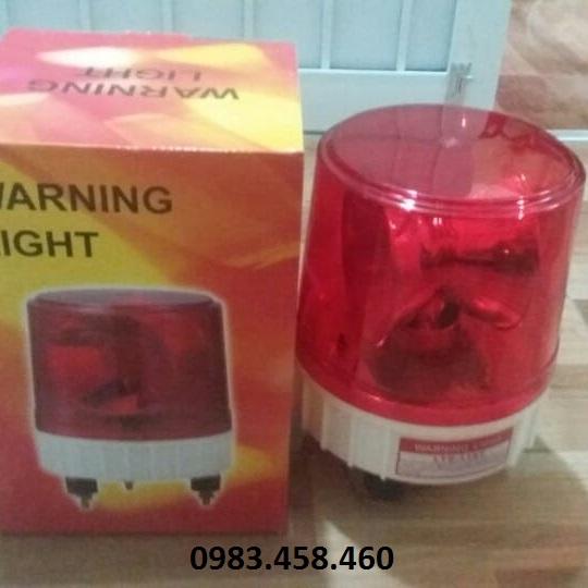 Đèn xoay cảnh báo LTE 1181 220V màu đỏ