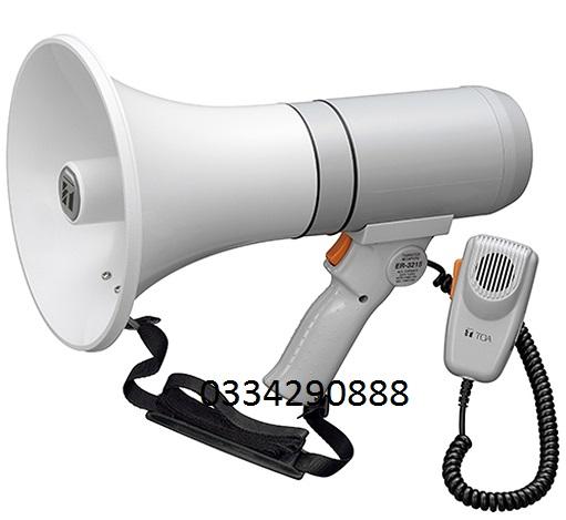 Loa phát thanh đeo vai có còi hụ TOA ER-2215W