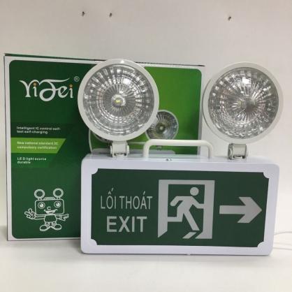 Đèn sự cố kết hợp Exit hướng phải
