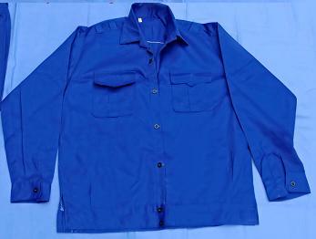 Áo bảo hộ xanh công nhân