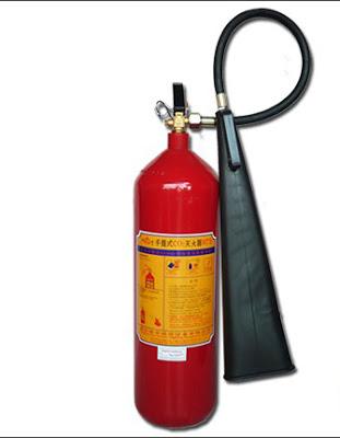 Cấu tạo bình chữa cháy cháy co2