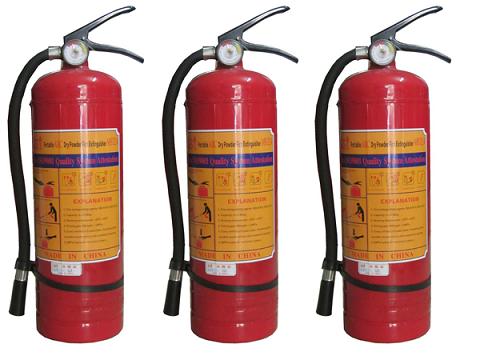Hướng dẫn sử dụng bình chữa cháy bột