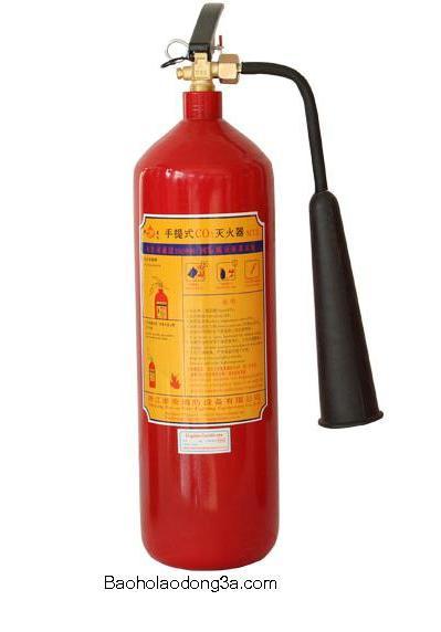 Hướng dẫn sử dụng bình chữa cháy Co2